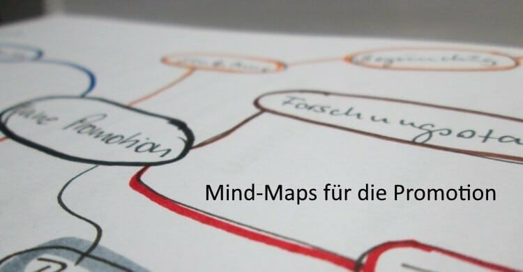 Mindmaps in der Promotion