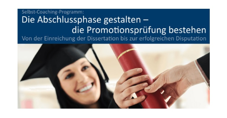 Coaching-Programm Abschlussphase gestalten – Disputation planen