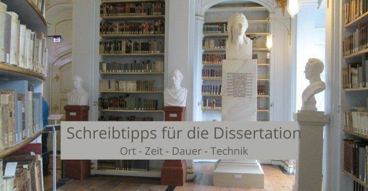 Schreibtipps für die Dissertation_Ort-Zeit-Dauer-Technik