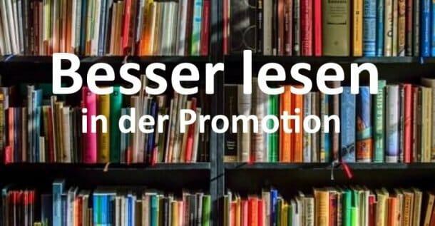 lesen promotion