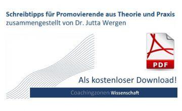 Schreiben-Dissertation-Promotion-Tipps