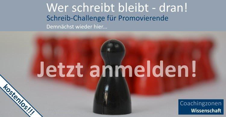 Mach mit bei der Schreib-Challenge