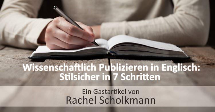 Wissenschaftlich Publizieren in Englisch