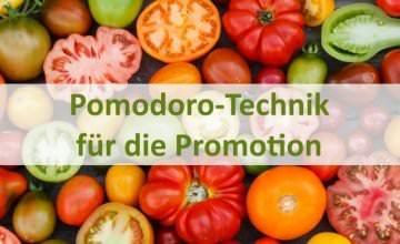 Pomodoro-Technik-Dissertation