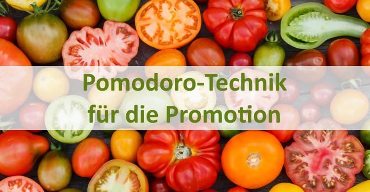 Pomodoro-Technik für die Promotion