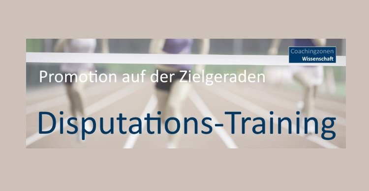 Disputations-Training