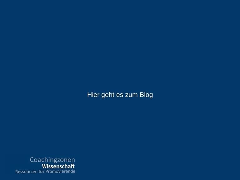 Blog Coachingzonen