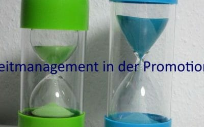 Zeitmanagement in der Promotion