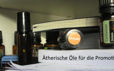 Ätherische Öle für die Promotion