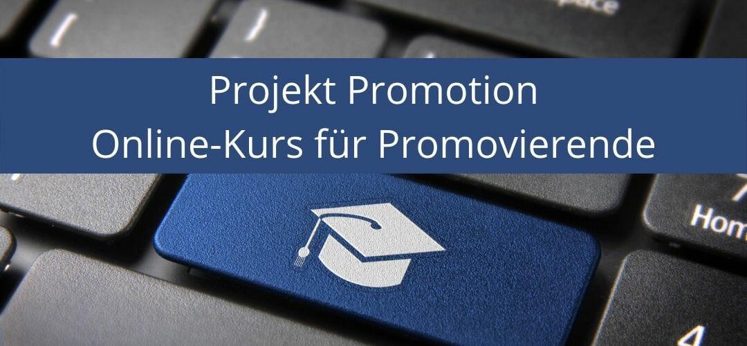 Projekt_Promotion_promovieren