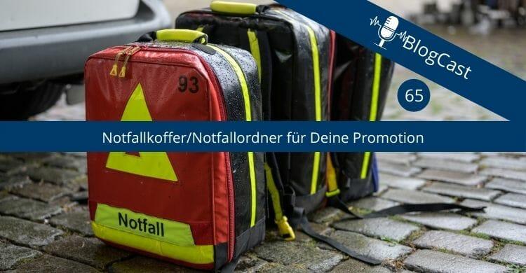 Notfallkoffer-Promotion