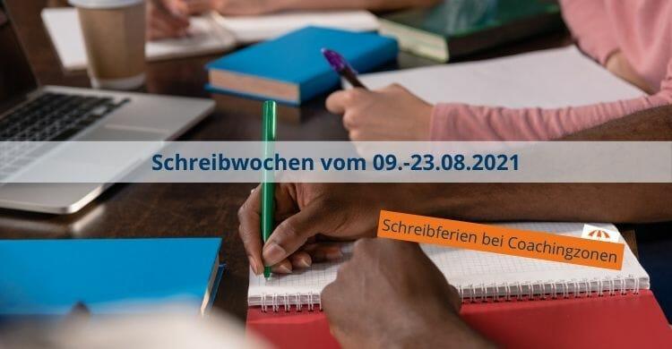 Schreibwochen-Promotion