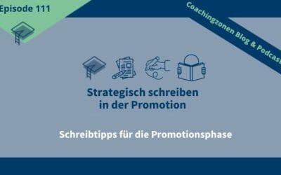 Strategisch Schreiben Promotion